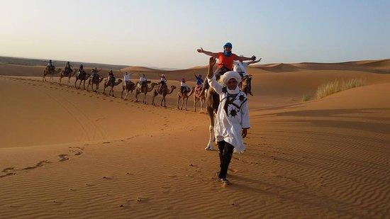 Merzouga, Morocco: camel travel