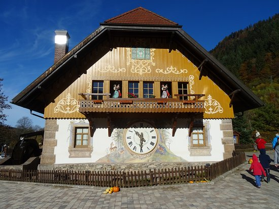 Sankt Blasien, Jerman: gift shop adjacent to the hotel