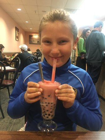 Rio Rancho, NM: Big fan of Boba shakes and beautiful offering to Buddha