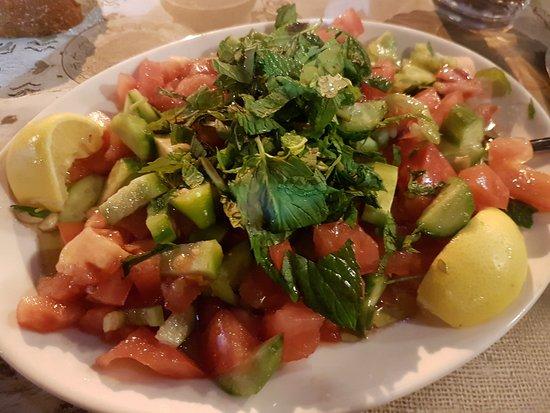 Ciya Sofrasi: A quite spicy salad