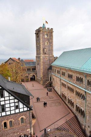 Eisenach, Germany: Blick auf den Burgplatz