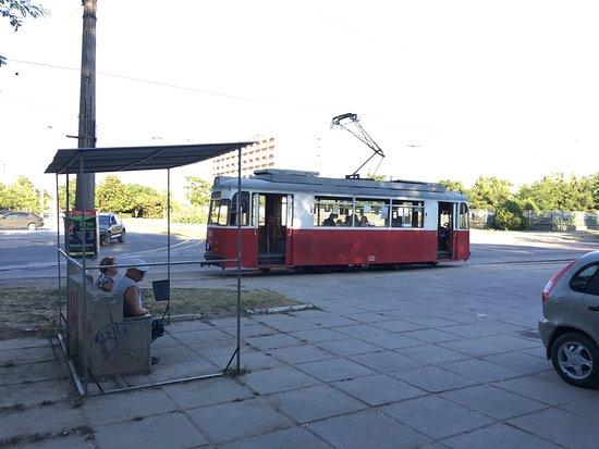 Evpatoriyskiy Tram: Музей на колесах) ну, или на рельсах...