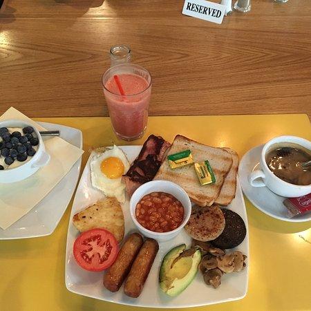 Lemon Jelly Cafe Breakfast Menu