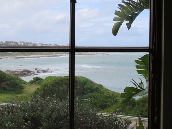L'Agulhas, South Africa: View from the bedroo window