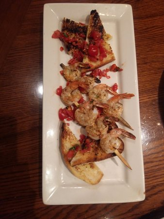 Monroe, NY: Wood Fire Grilled Shrimp on the Barbie