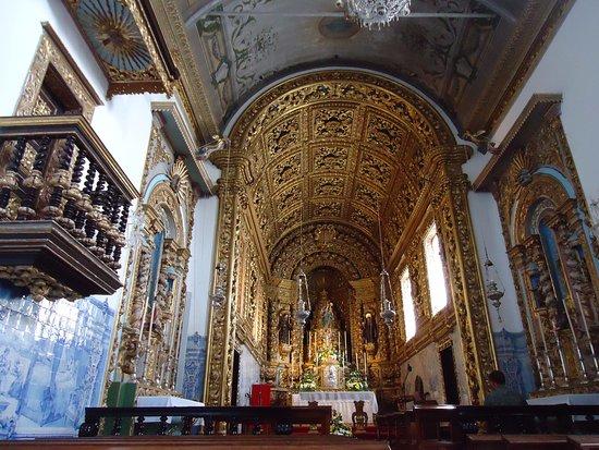 Igreja do Santo Cristo: Interior