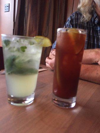 Virgin Mojito and Caesar, Atlas Cafe, 250 6th St, Courtenay, British Columbia