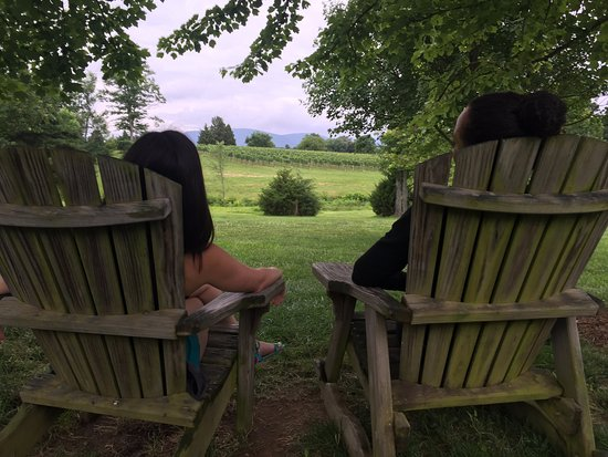 Afton, VA: Relaxing with a view