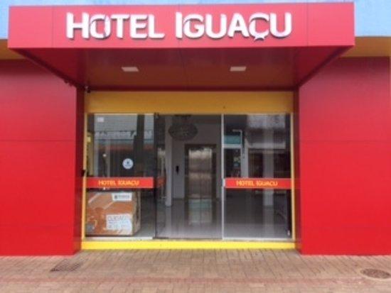 Dionisio Cerqueira, SC: Entrada do Hotel