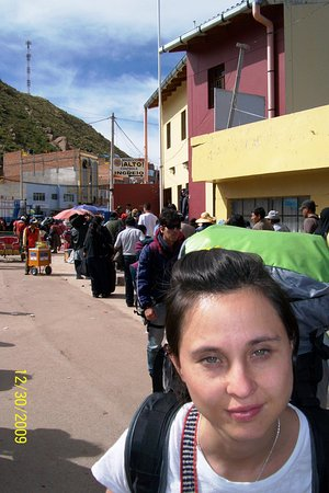 paso por desaguadero, Bolivia