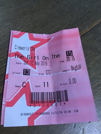 Cineworld Cinemas: Just think cinema is so expensive now ! Lucky they still do Tesco vouchers !  Nice evening out