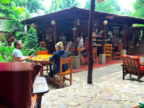 San Marcos La Laguna, Guatemala: The ambiance is very relaxed.