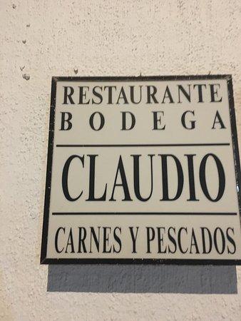 Bodega Claudio: photo1.jpg