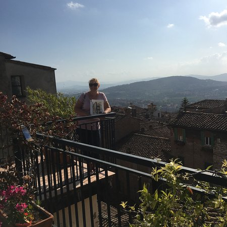 Hotel Fortuna: Rooftop Terrace