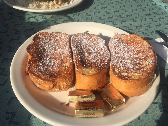 Berry Stuffed French Toast,  Martha's 22nd Street Grill, 25 22nd St, Hermosa Beach, CA