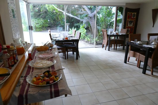Saint Francis Bay, South Africa: breakfast room