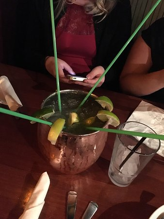Stillwater, Μινεσότα: Great food, great service, great drinks! We ordered the big mule and I highly recommend if you h