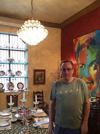 La Perla Hotel Boutique B&B: In the breakfast room
