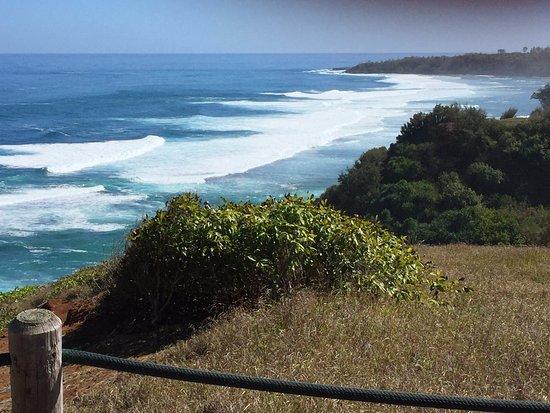 Kilauea, Hawái: Bluff
