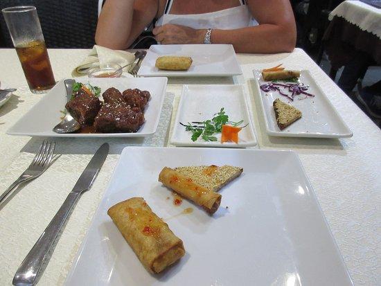 Sunshine: best meal in lanzarote