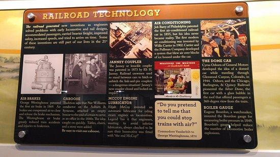 Aiken, SC: Railroad technology