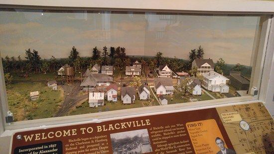 Aiken, SC: Blackville station