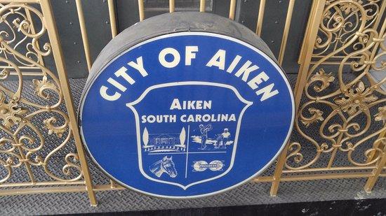City of Aiken sign