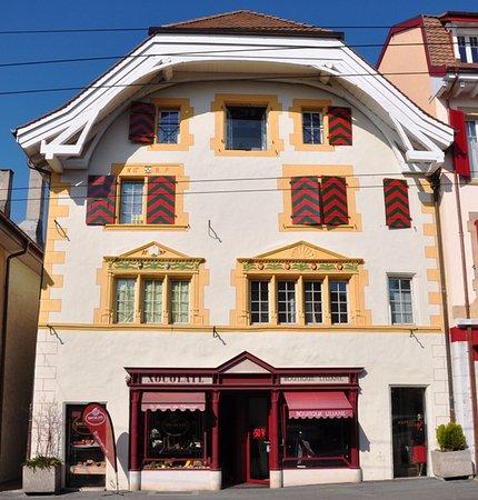 Peseux, Suiza: Xocolatl, extérieur