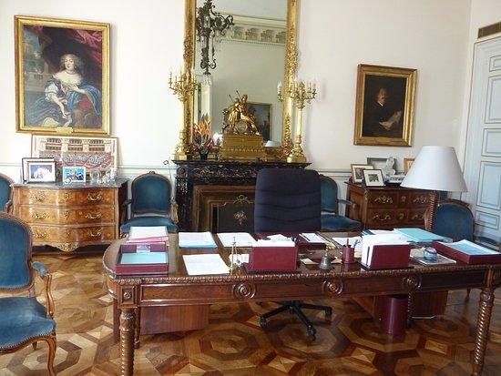 Le bureau du maire de marseille jean claude gaudin picture of l