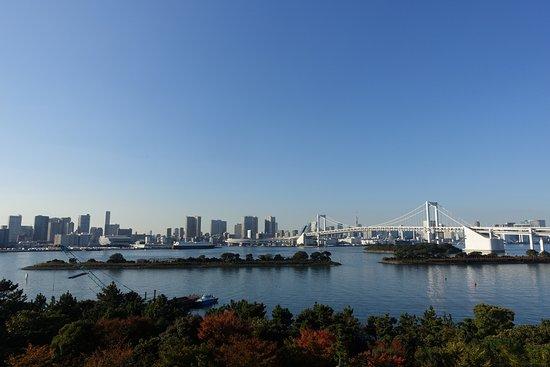 Hilton Tokyo Odaiba: 眼前にレインボーブリッジ、東京のビル街が広がる
