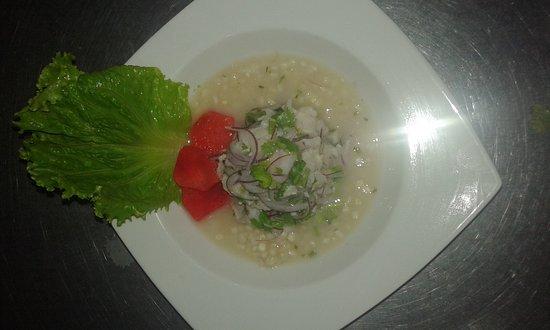 Restaurante Jade Mar: Ceviche peruano Jade Mar...