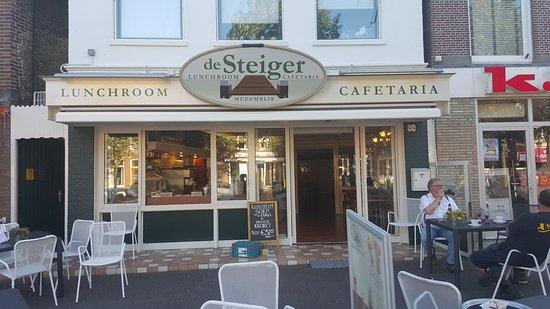 Medemblik, Países Bajos: Cafetaria De Steiger