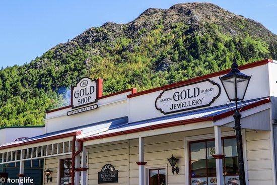 Arrowtown, New Zealand: Main street