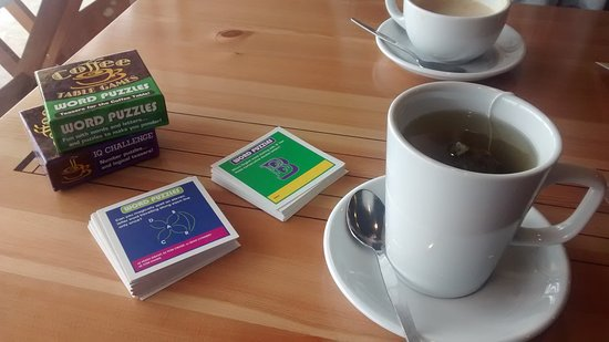 """Perfect Note Cafe: """"Perfect"""" to relax & do word puzzles"""