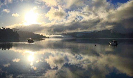 มาร์ลโบโรห์, นิวซีแลนด์: View from Raetihi Lodge jetty