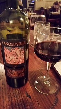 Congers, NY: This wine was recommended by our server. Perfection.