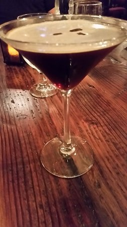 Congers, NY: Espresso martini...a must for after dinner.