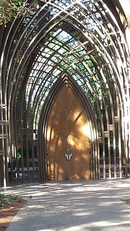 Bella Vista, AR: at the Chapel doors