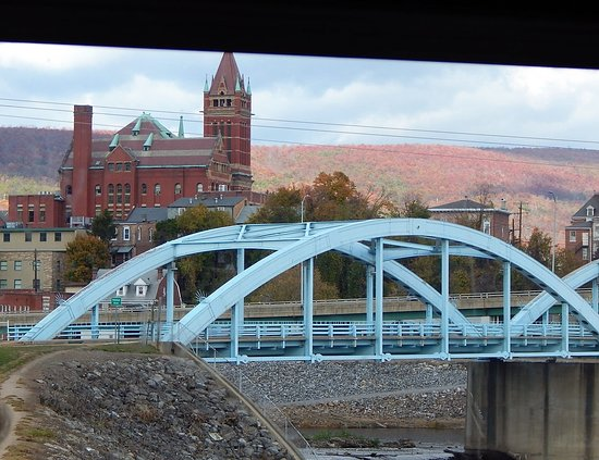Cumberland, MD: View from Train