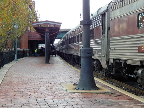 Western Maryland Scenic Railroad: Back at Train Station