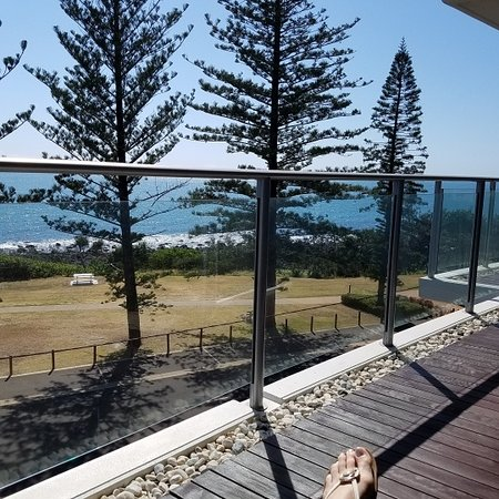 Bargara, Australien: view from the balcony