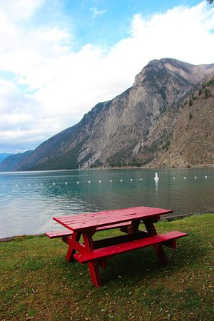 Lillooet, Canadá: Great picnic spot