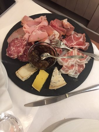 Amazing meat and salami restaurant