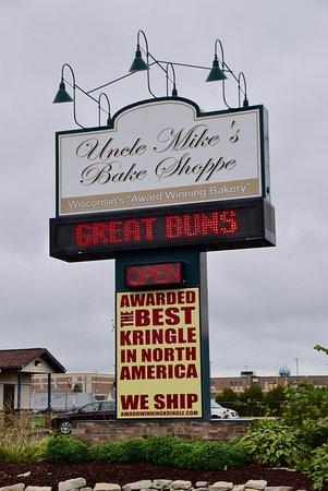 De Pere, Wisconsin: Sign Outside