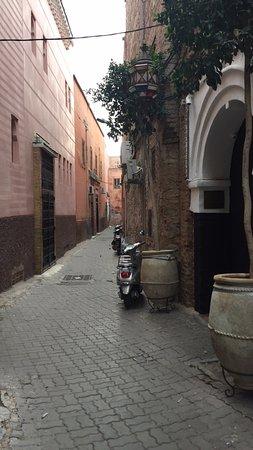 El Fenn: The front door and the street it is on