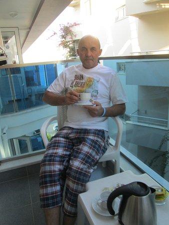 Kleopatra Life: Утреннее кофе на балконе
