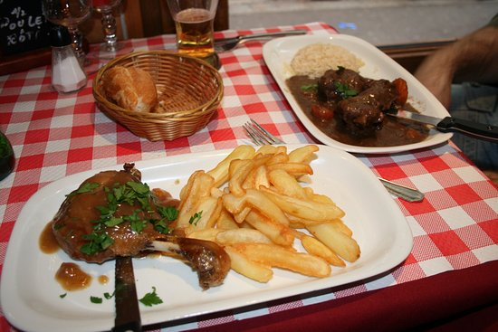 L' Auberge St-Severin: Főfogás is finom volt