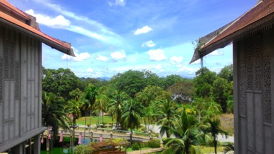 Kuala Terengganu, Malesia: Pandangan dari atas .