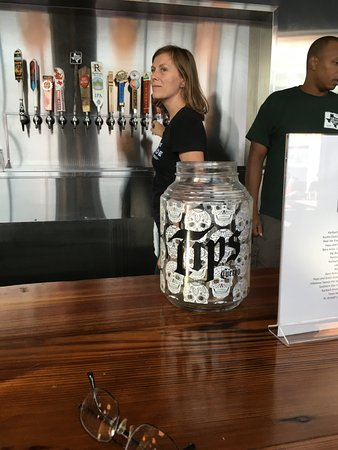 Texas Beer Company: Tip-jar