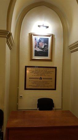 Kharkov Synagogue: תמונת הרבי